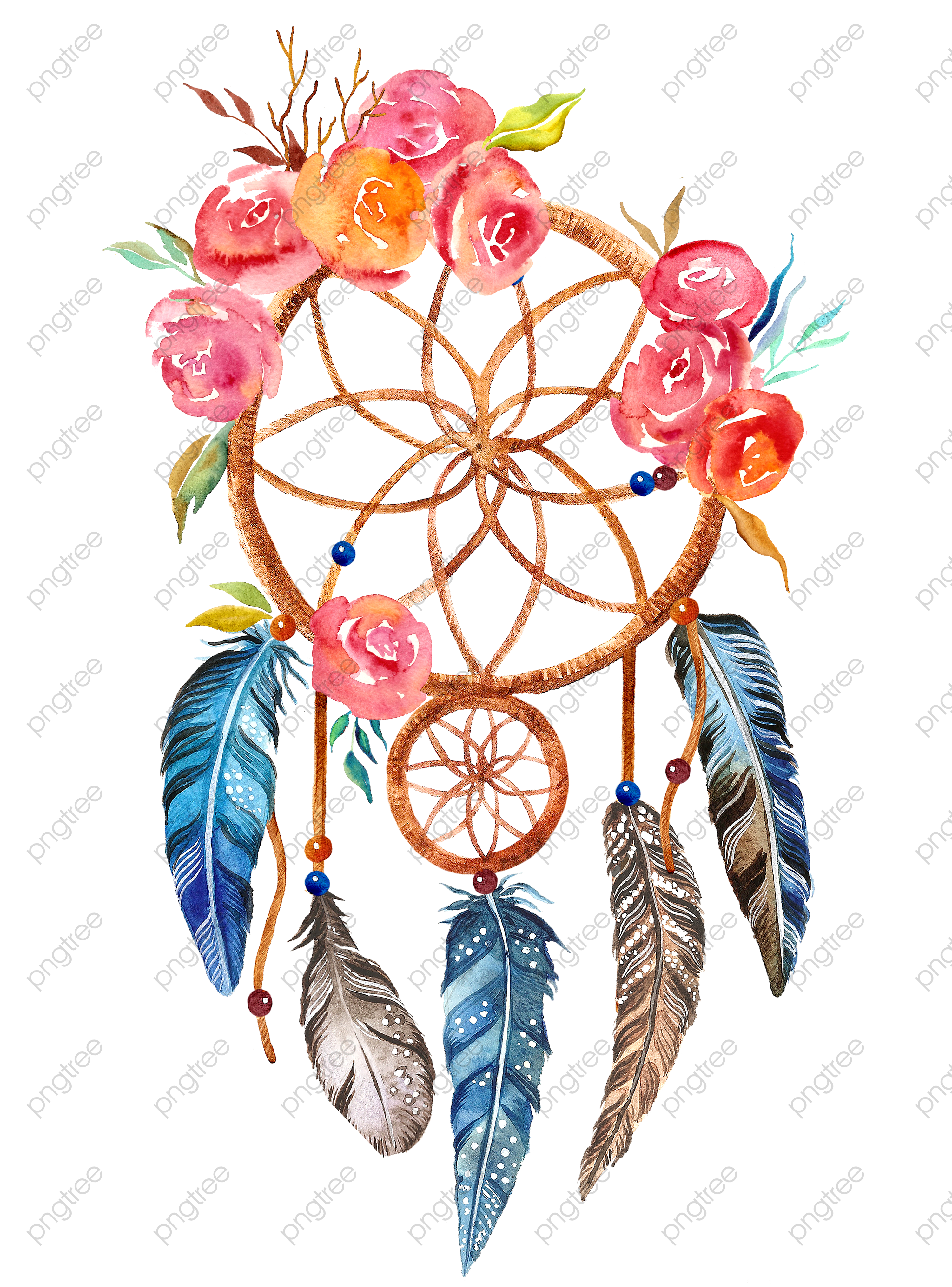 transparent dreamcatcher png format image with size 3000