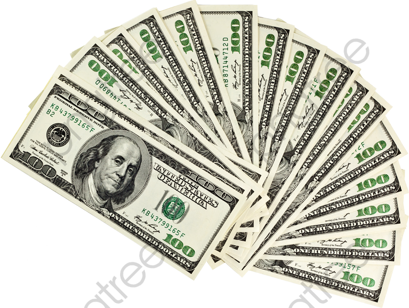 Transparent money dollars PNG Format Image With Size 2565 ...