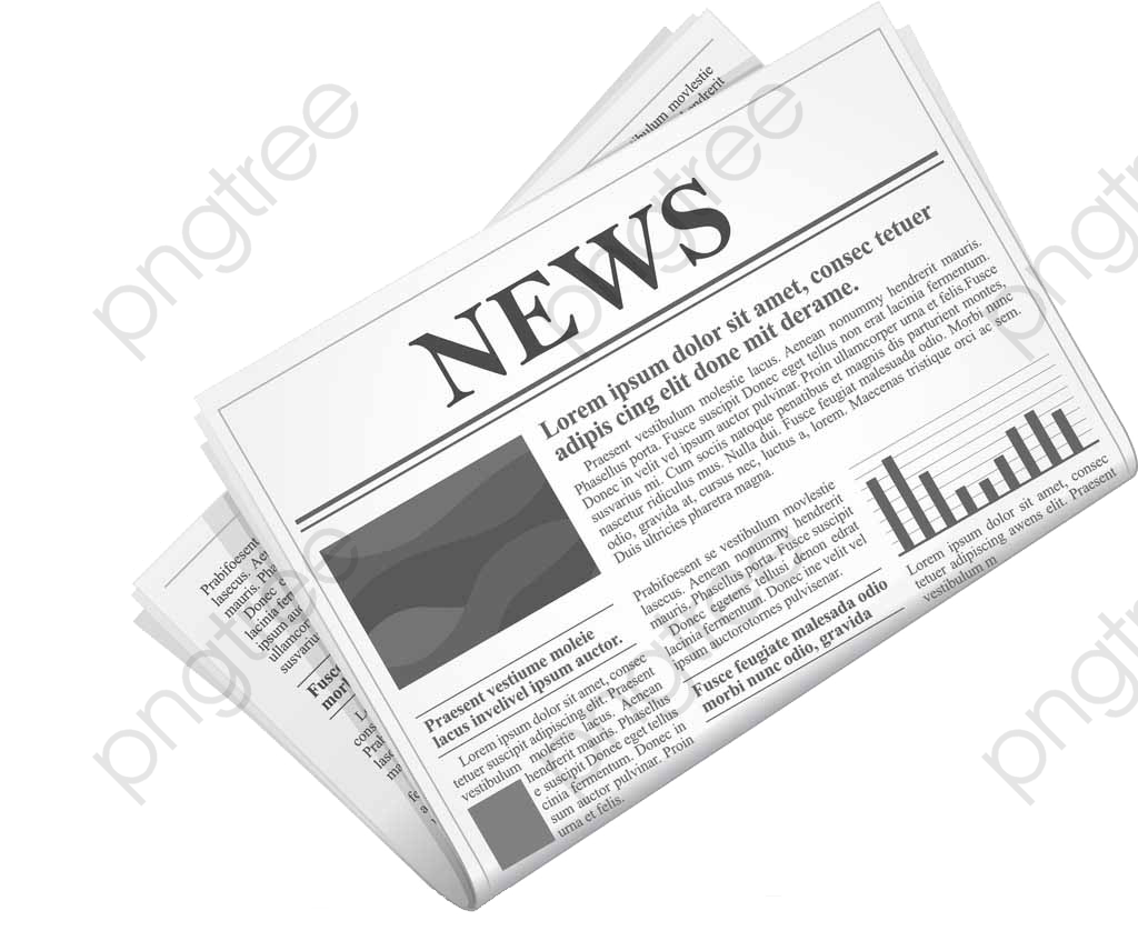 transparent retro reading newspaper png format image with size 1024