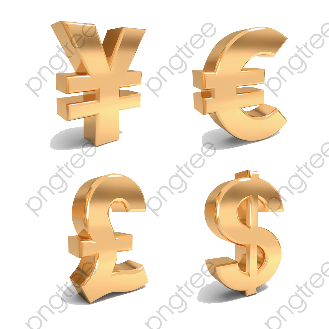 Us Dollar Euro Currency Symbol Png Clipart