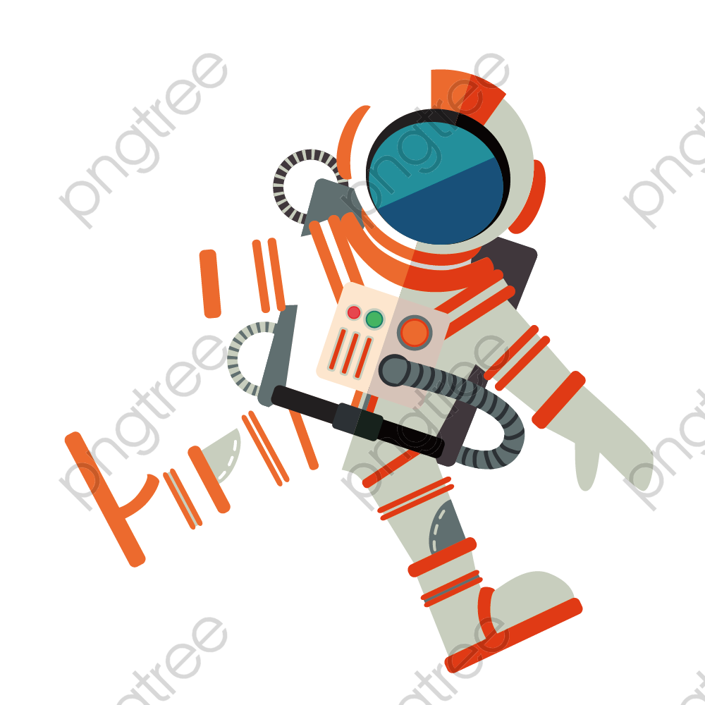Astronaut vector material PNG Clipart