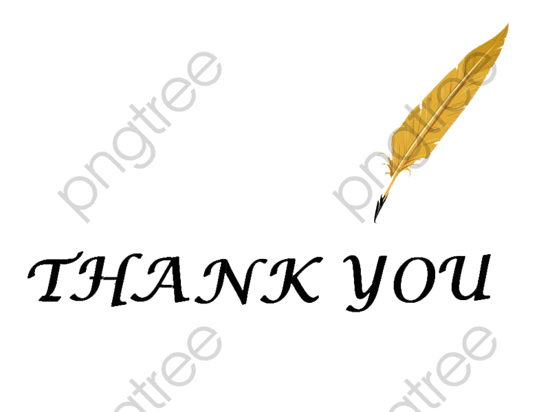 transparent ppt conclusion thank you png format image with
