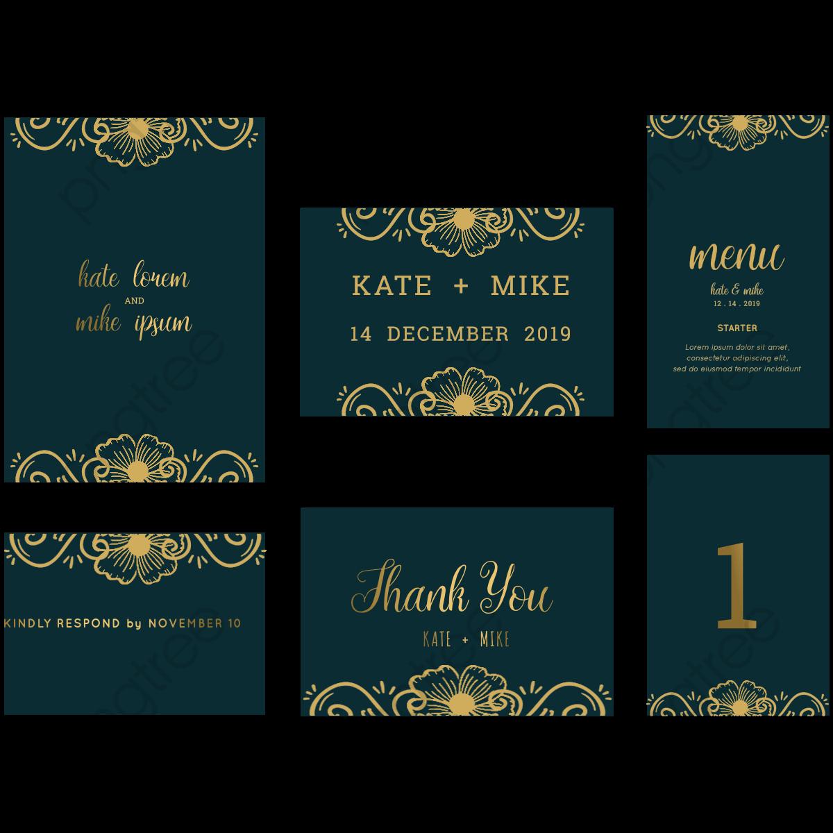 ... Psd Mockup 531861 Blue Floral Wedding Invitation Card Royalty Free Stock Vector 520427 ...