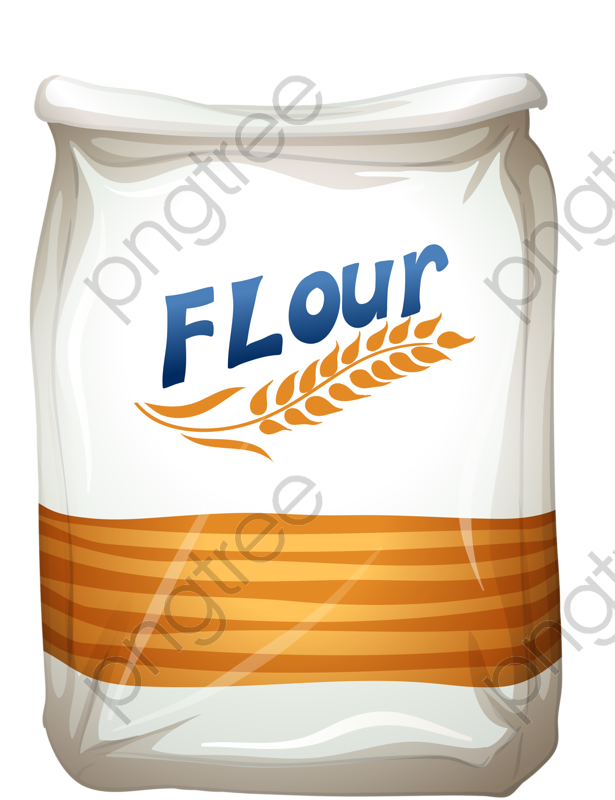 Transparent Wheat Flour Bags Png Format Image With Size 615 800