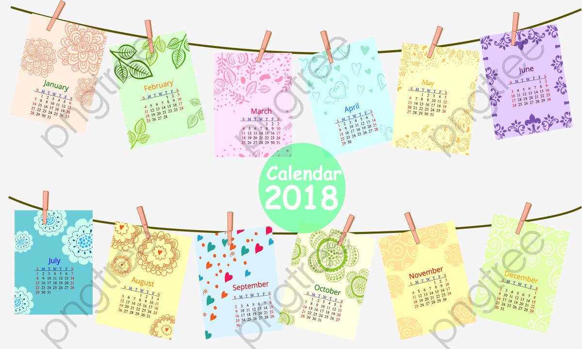 color photo 2018 calendar png clipart