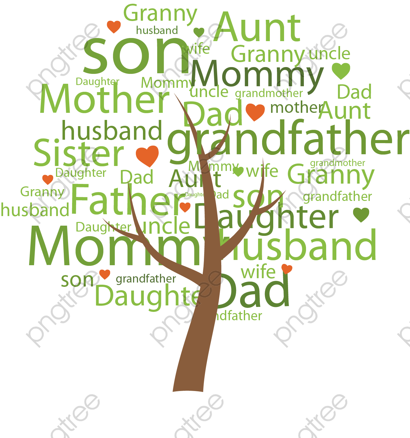 transparent family tree png format image with size 1325 1417 preview page