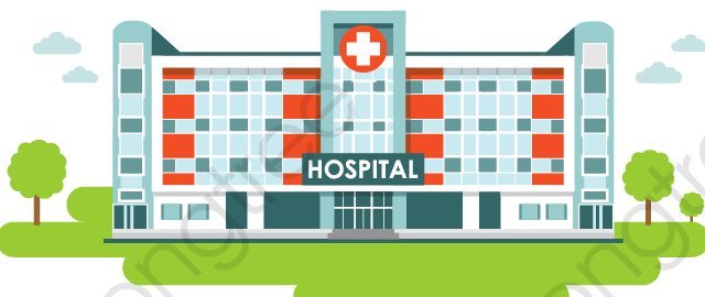 transparent hospital png format image with size 1200 1200