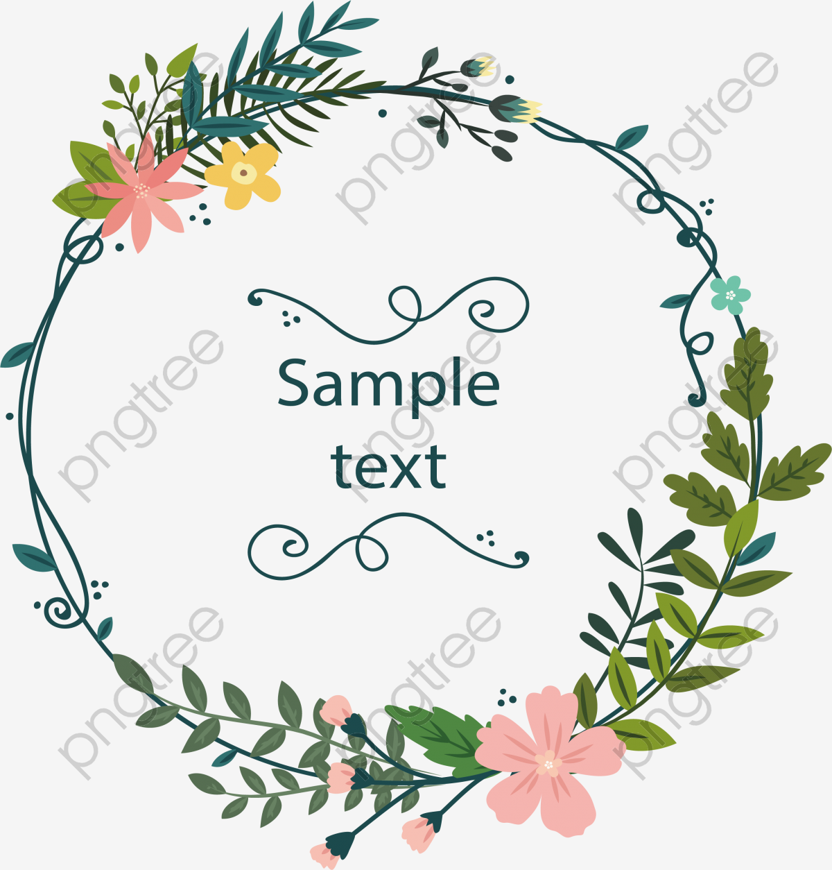 Transparent Pink Flower Decorative Box Png Format Image With