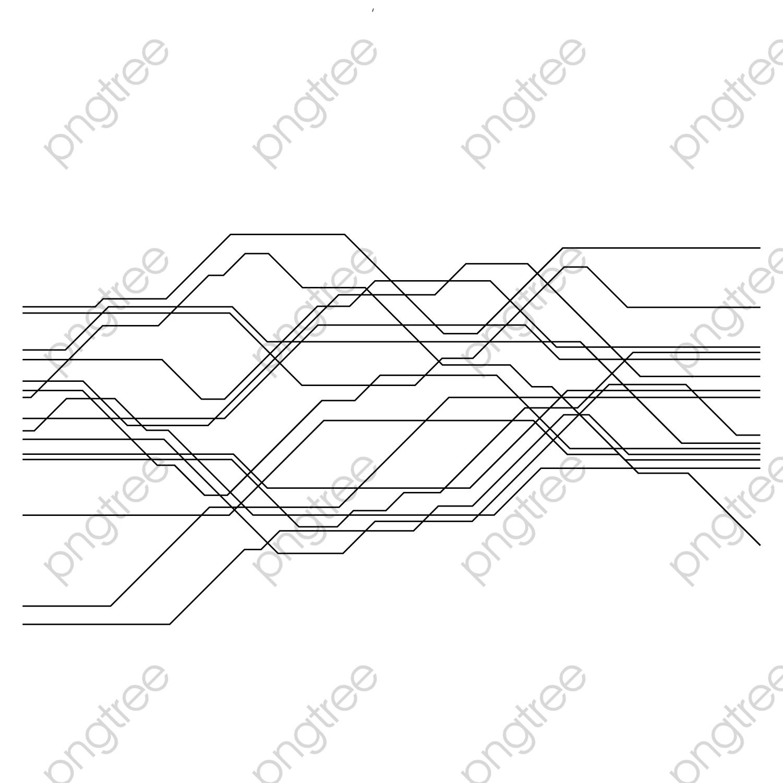 transparent vector transverse current line circuit png