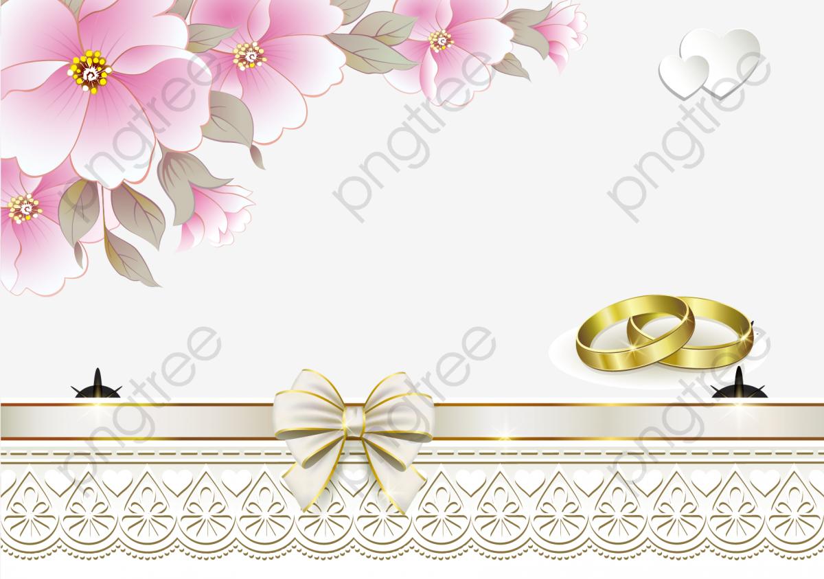 072f4b625c31 Anillo en forma de corazón de flores de invitaciones de boda Gratis PNG y  Vector