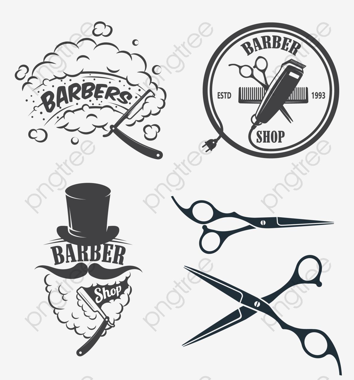 salon chez le coiffeur ic u00f4ne png et vecteur pour