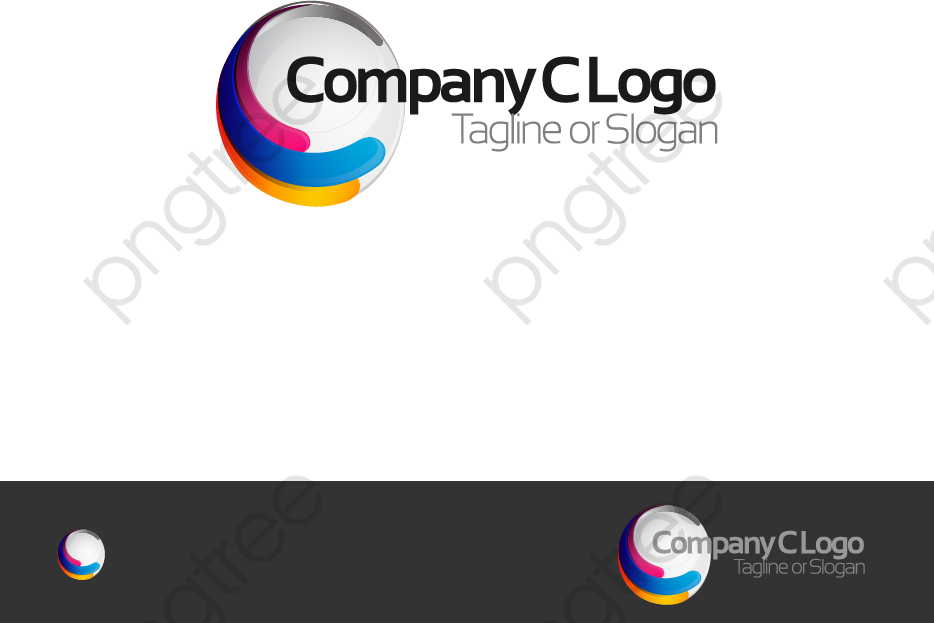 Transparent Three Color Company Logo Png Format Image With Size 934