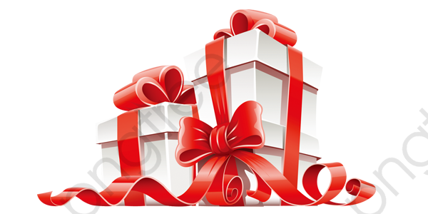 White Christmas Gift Box Gift Clipart White Christmas Png