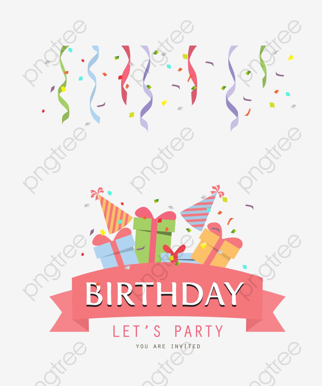 無料ダウンロードのための誕生日パーティー リボン 雰囲気 お誕生日