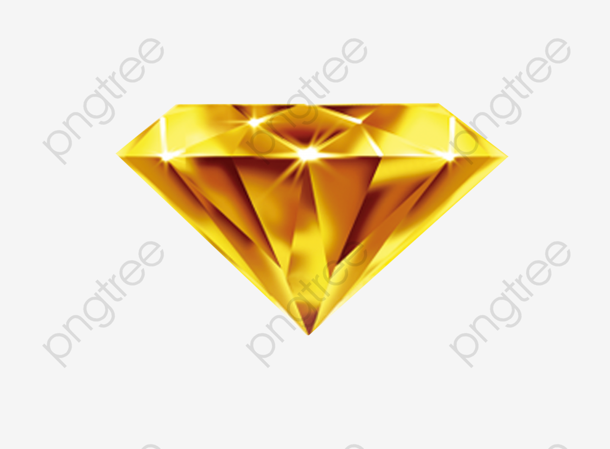 Diamond gold. Download clipart golden png