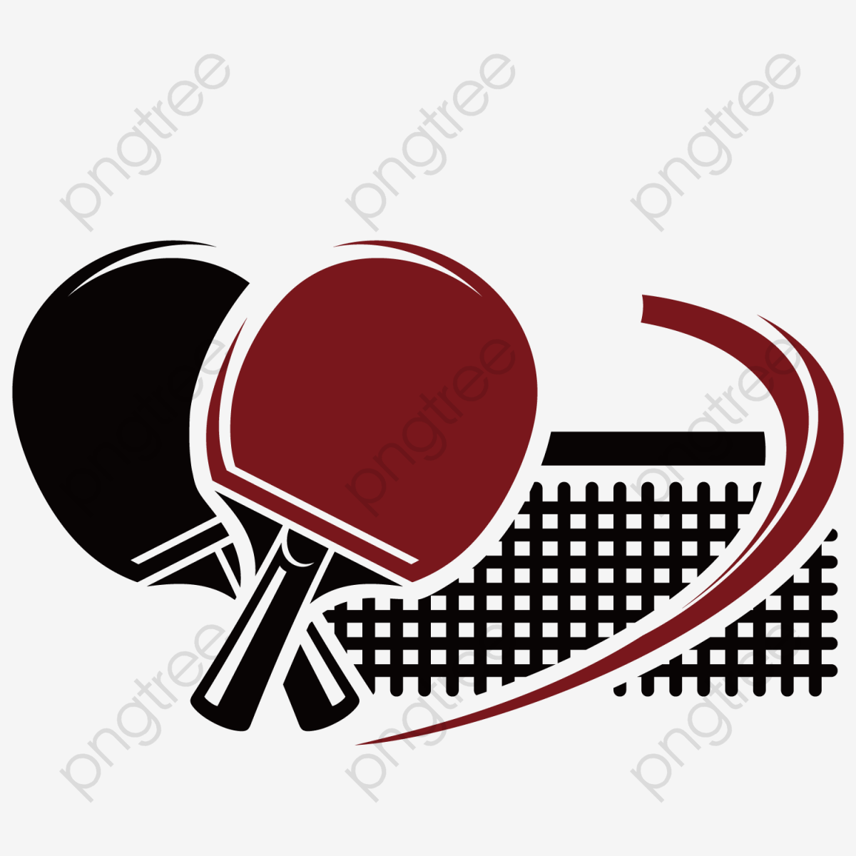 Transparent Table Tennis Png Format Image With Size 1200 1200