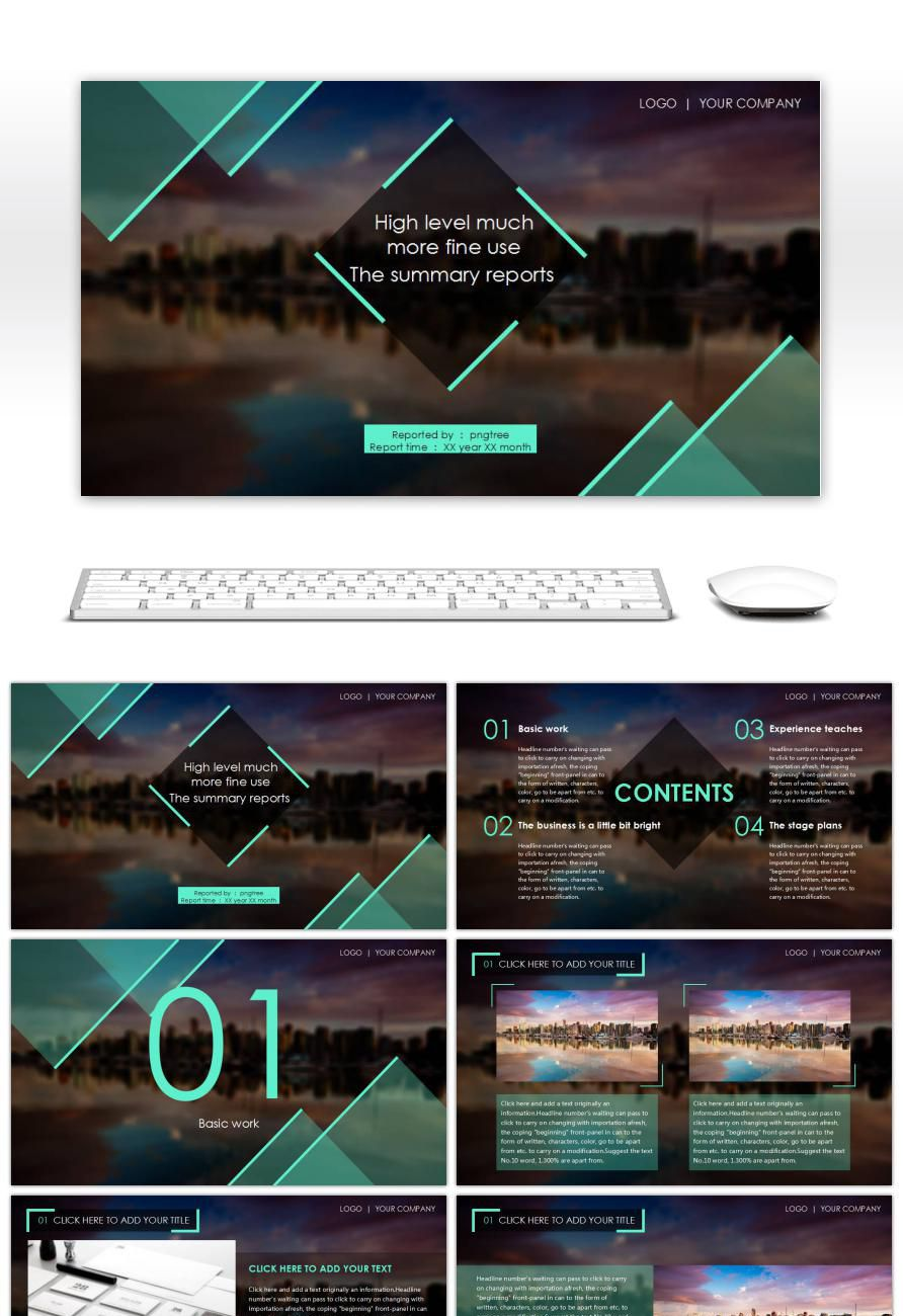 Cool powerpoint templates 1567 easy to edit ppt templates pngtree multipurpose business report elegant black wajeb Choice Image