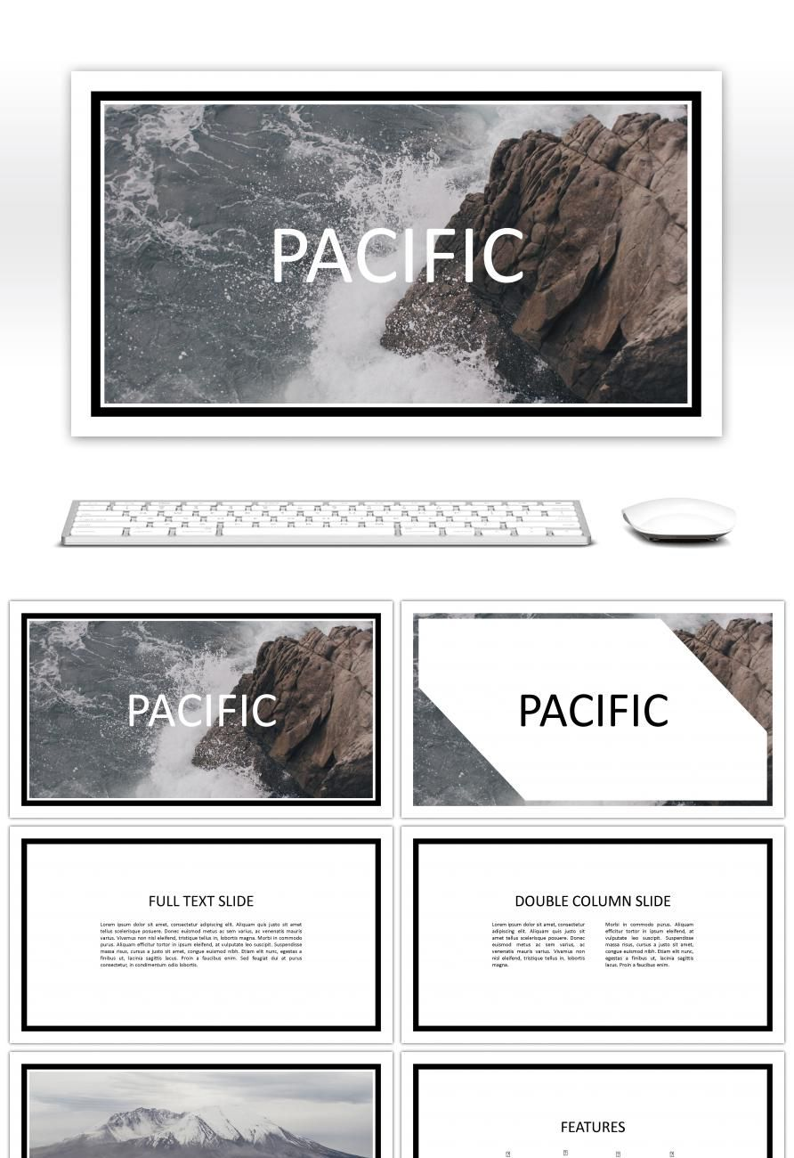 Awesome Concise Atmospheric Business Ppt Template For Free