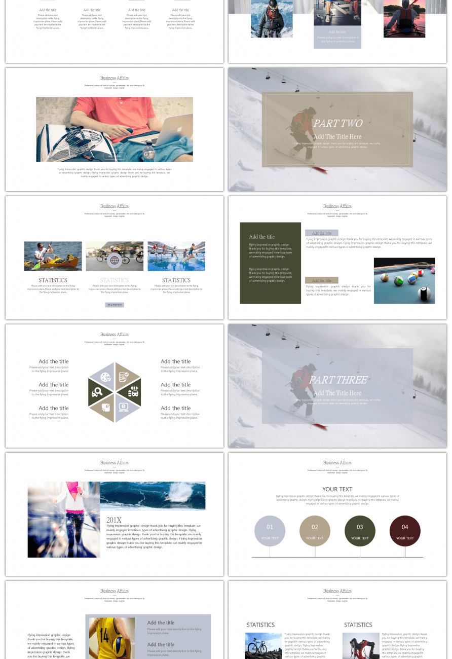 Awesome Simple Motion Theme General Ppt Template For Unlimited