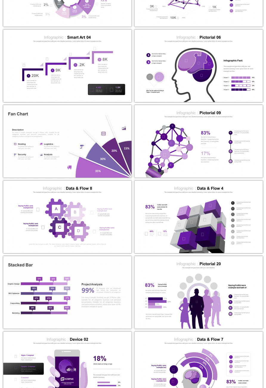 awesome 30 sets of purple business comparison relationship