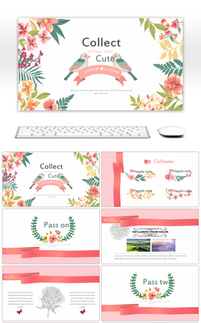 382 pink powerpoint templates