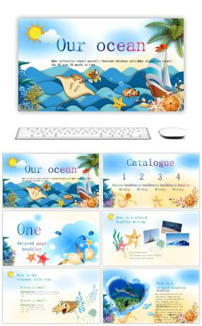 67 Ocean Powerpoint Templates For Unlimited Download On Pngtree