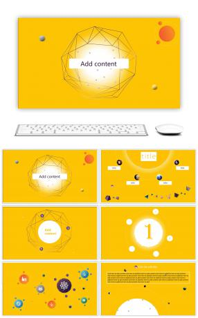 408 yellow powerpoint templates for unlimited download on pngtree yellow technology sense work report ppt template toneelgroepblik Choice Image