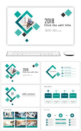 2903 foreign language training powerpoint templates for free blue green square graphics company training ppt template toneelgroepblik Image collections