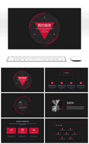 69 Red And Black Powerpoint Templates For Unlimited Download On Pngtree