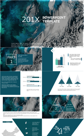 21 geometric ppt template powerpoint templates for unlimited european and american fashion atmosphere work summary ppt template toneelgroepblik Image collections