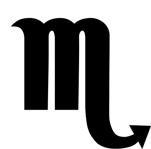 Constellation, Scorpio, Scorpion Icon