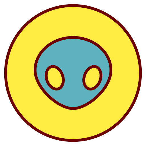 Alien, Android, Droid Icon