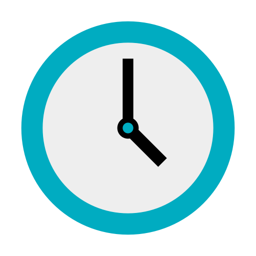 Clock, Copy, Documents Icon