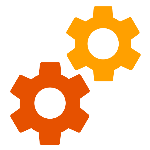 Services, Setting, Support Icon