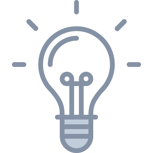 Idea, Intelligent, Lightbulb Icon