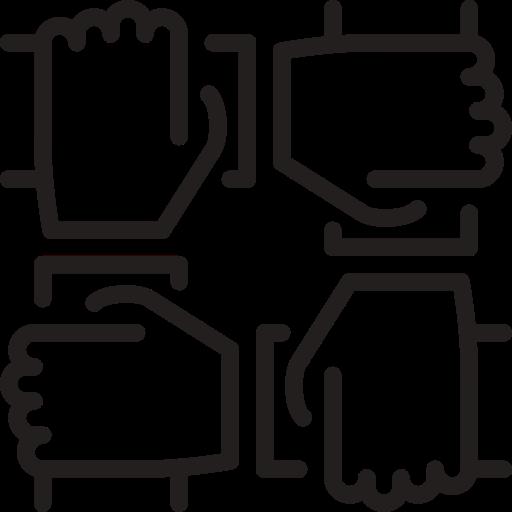 Team Work, People, Settings Icon