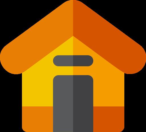 Cabin, Cottage, Estate Icon