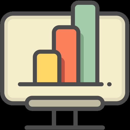 Analytics 1, Analytics, Business Icon