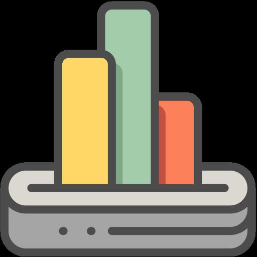 Bar Chart, Bar Chart, Business Graph Icon