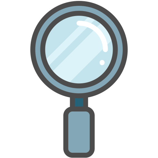 Loupe, Magnifier, Magnifying Glass Icon
