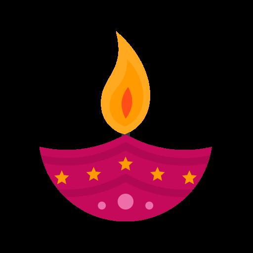 Candle 3, Fill, Multicolor Icon