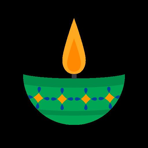 Candle 5, Fill, Multicolor Icon