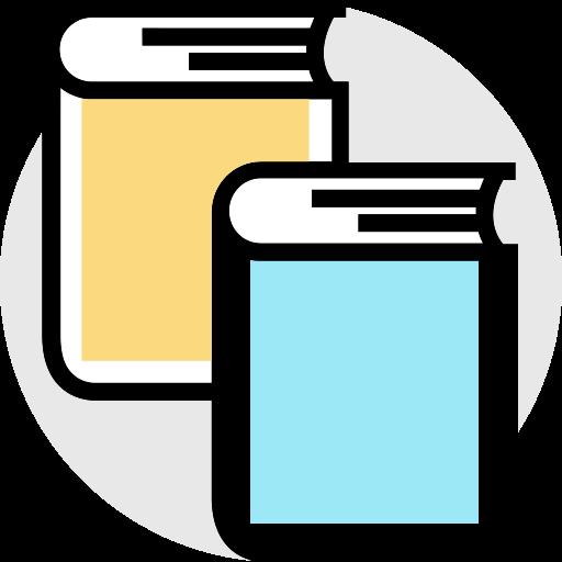 Book, Multicolor, Bookmark Icon