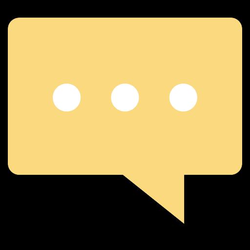Speech Bubble, Multicolor, Talk Icon