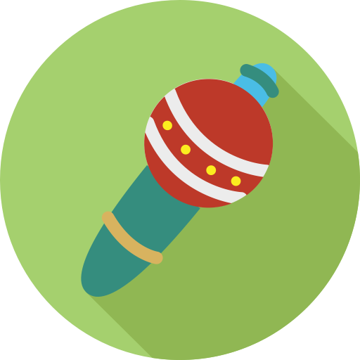 Fill, Multicolor, Microphone Icon