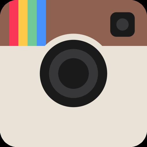 Logo Instagram, Flat, Instagram Logo Icon