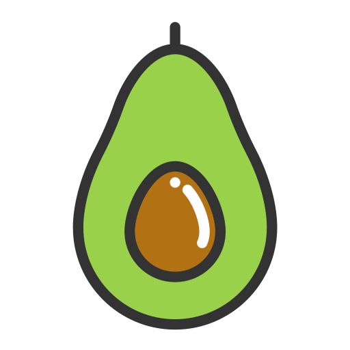 Avocado, Avocado, Fruits Icon
