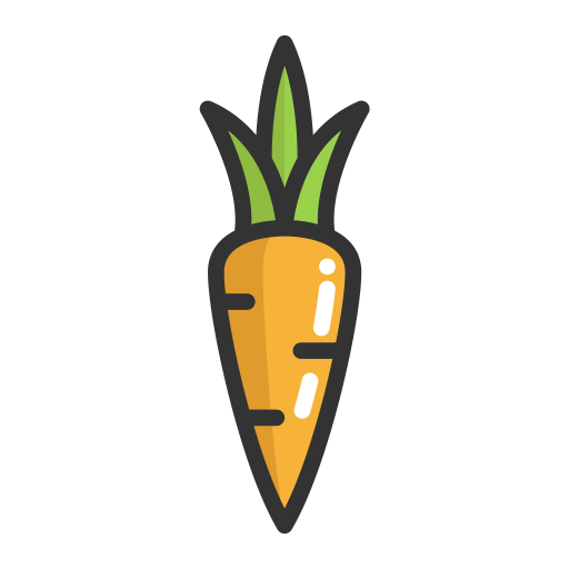Carrot, Carrot, Fruits Icon