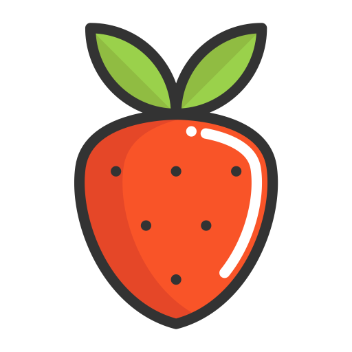Strawberry, Strawberry, Fruits Icon