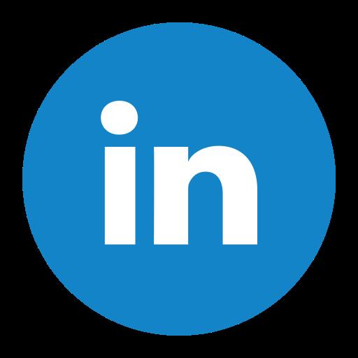 Linkedin, Twitter Icon